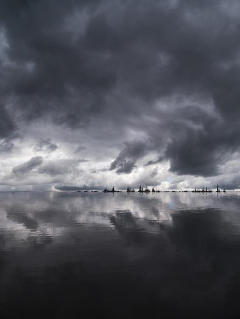 Écho : d'après [after] Olivier Messiaen, Quatuor pour la fin du temps : L'abîme des oiseaux